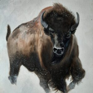 Bison Ridge Corgis - Painting