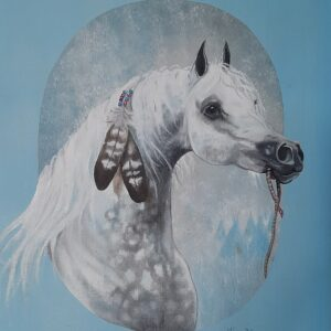 Oil Painting for Corgis, Bison Ridge Corgis